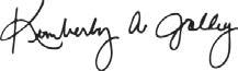 Kim Jolly signature image