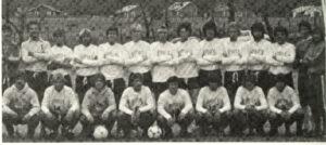 men's soccer team photo from 1982