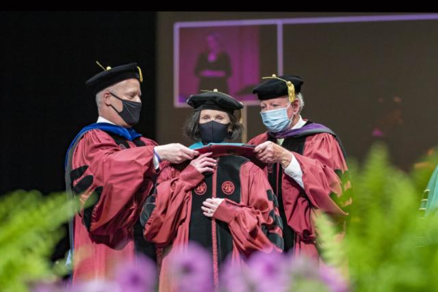Honorary degree recipient Cecilia Cogdell